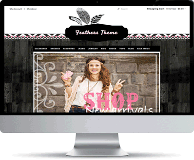 Boho, Gypsy, Tack, online store, themes, templates
