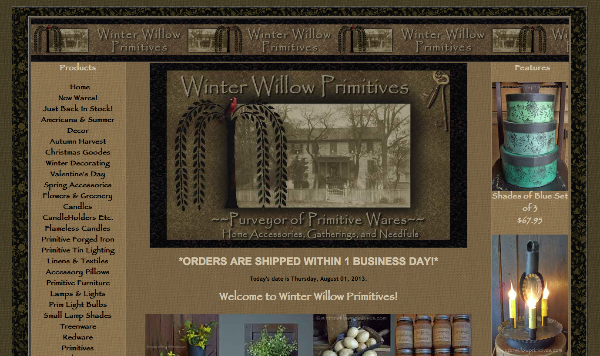 Winter Willow Primitives