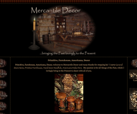 Mercantile Decor