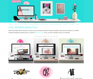 Boutique Bel Chic Boutique Templates