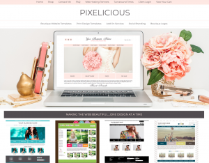 Pixelicious Boutique Themes